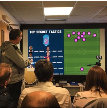 L'analyse de Bielsa sur le 10-0-0 du Forward Madison FC Photo via Instagram