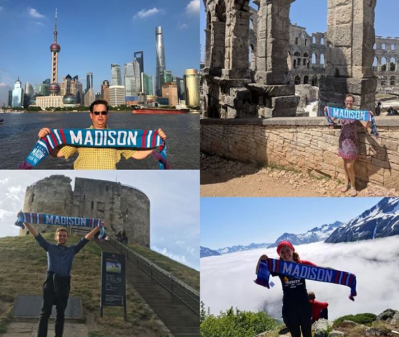 Le « Where in the World is Madison Pro Soccer » dans toute sa splendeur Photo via Instagram